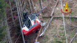Drie leidinggevenden kabelbaanbedrijf Italië opgepakt na ongeluk.