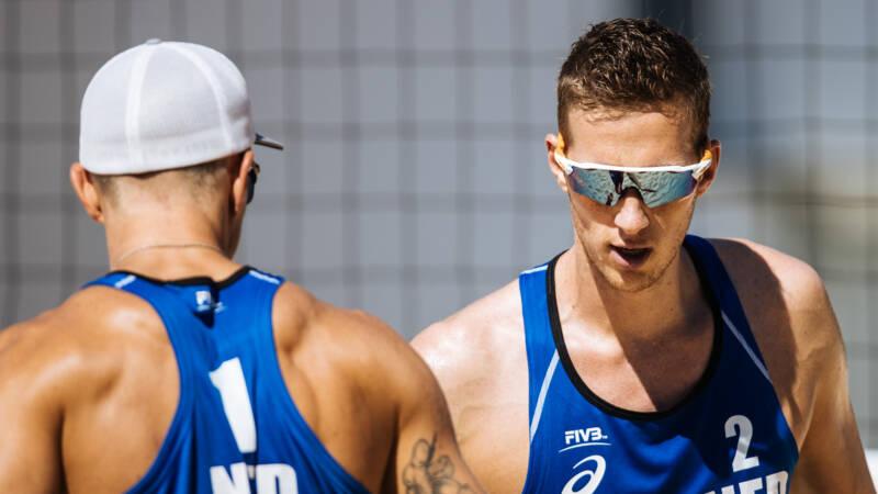 Beachvolleybalduo Varenhorst/Van de Velde haalt halve finales in Sotsji