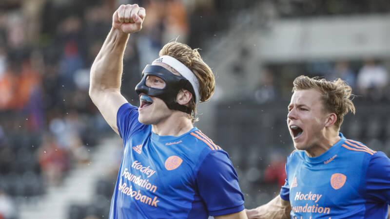 Nederlandse hockeyers verslaan favoriet België in verhitte halve finale