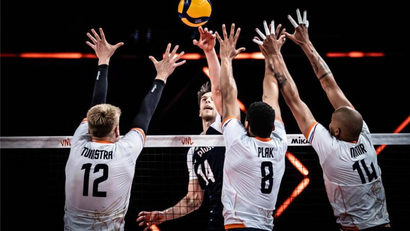 Volleyballers kunnen wereldkampioen Polen niet bijbenen in Nations League
