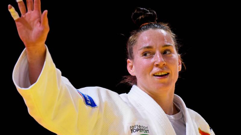 Verkerk strijdt op haar laatste judotoernooi tegen Steenhuis om WK-brons