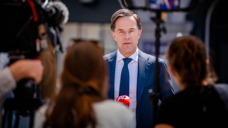 Rutte wil bij voorkeur door met huidige coalitie