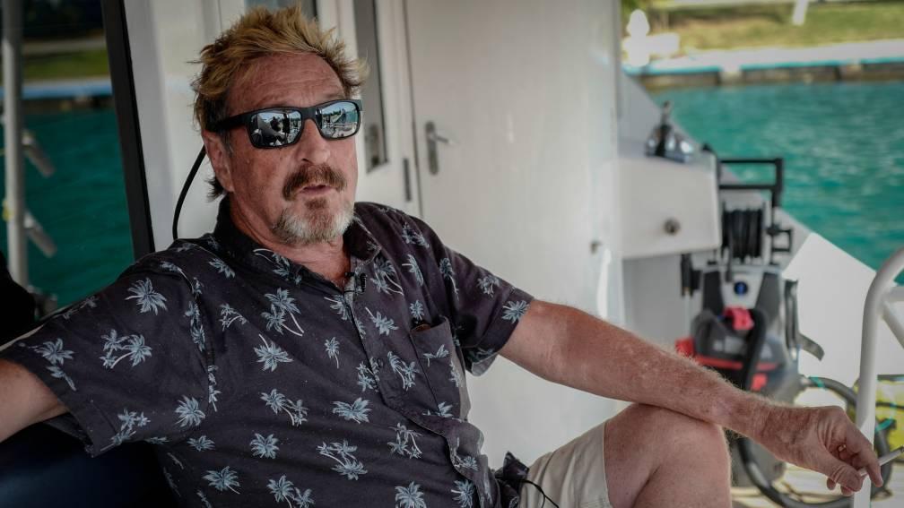 Bekijk details van Softwareontwikkelaar John McAfee (75) dood in Spaanse cel