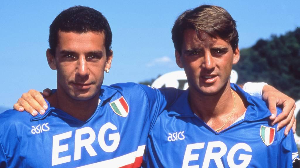 Wembley-verdriet als brandstof bij EK voor boezemvrienden Mancini en Vialli  | NOS