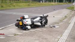 Opzet vermoed bij fatale aanrijding motoragent Rotterdam.