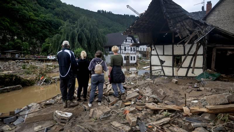 Lichamen in bomen, groot aantal trauma's: verhalen uit Duits rampgebied