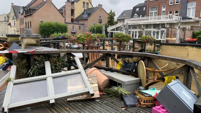400 miljoen euro schade in Valkenburg, 2300 huizen beschadigd