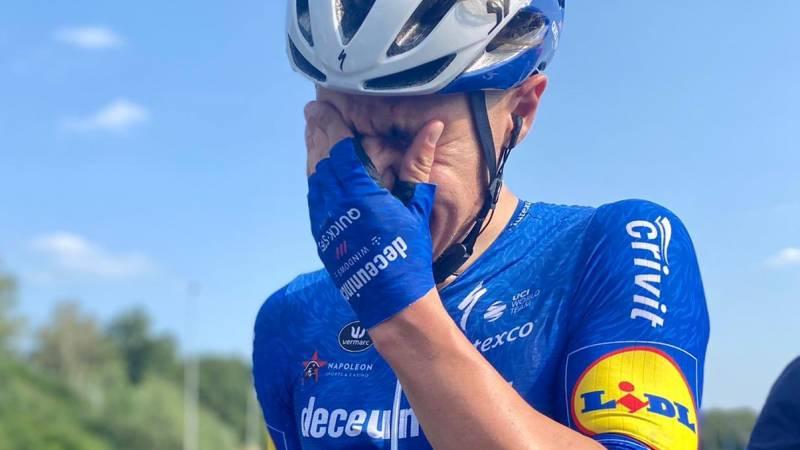 Jakobsen wint eerste etappe na zwareval en maanden revalideren