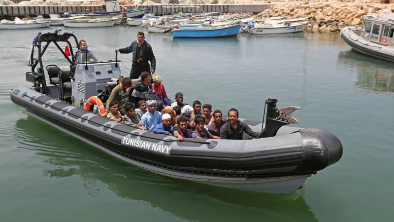 Zeker 17 doden bij schipbreuk voor de kust van Tunesië