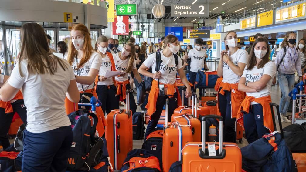 Bekijk details van Vijf Nederlandse besmettingen in Tokio, maar rol vliegtuig staat nog niet vast