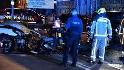 Nederlandse motoragent zwaargewond bij botsing net over de grens in België.