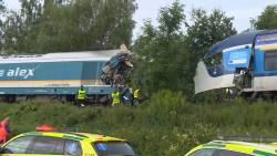 Twee doden en tientallen gewonden bij treinongeluk Tsjechië.