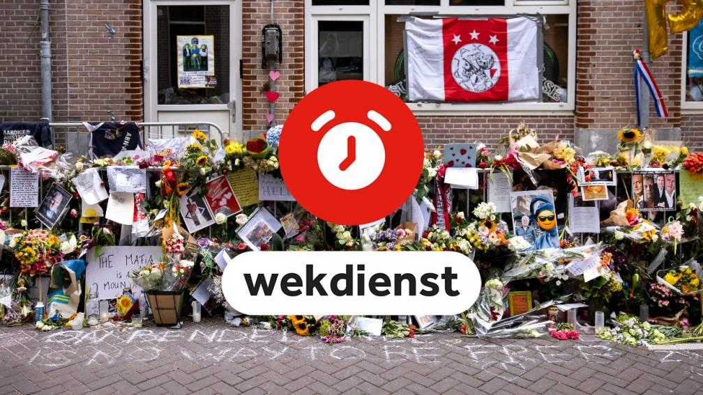 Wekdienst 5/8: Persconferentie advocaten over Peter R. de Vries • Veel medaillekansen