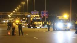 Motorrijder overleden bij zwaar ongeluk op A4 bij Den Haag.