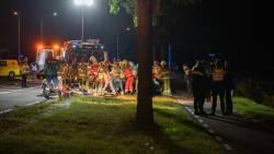 Vijf jongeren zwaargewond bij ongeluk Raalte.