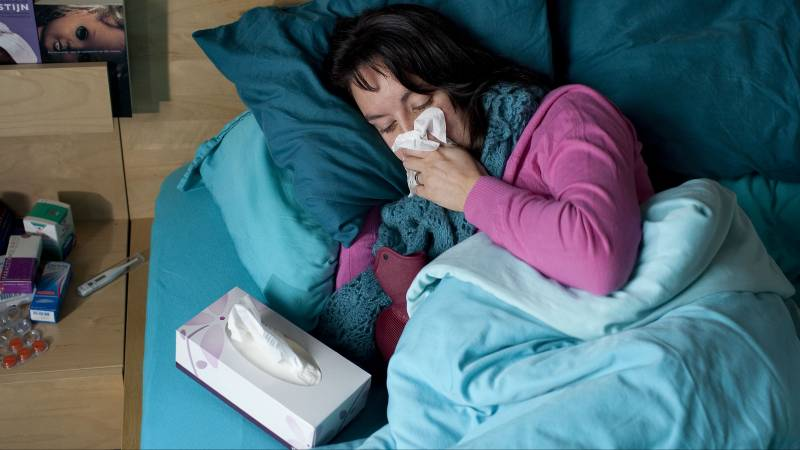 The flu is growing a bit this fall and could hit harder than usual