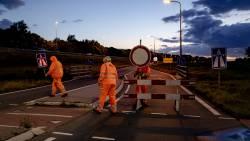 Drukste ochtendspits van het jaar door ongelukken en afsluiting A12.