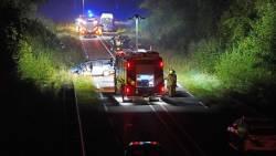 Dode en zwaargewonde bij aanrijding tussen scooter en lijnbus bij Brunssum.