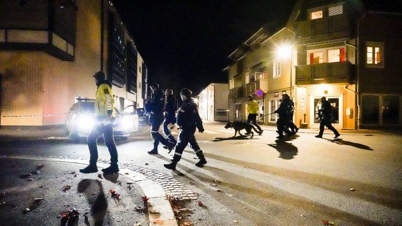 Vijf doden en twee gewonden bij aanval door man met pijl en boog in Noorwegen