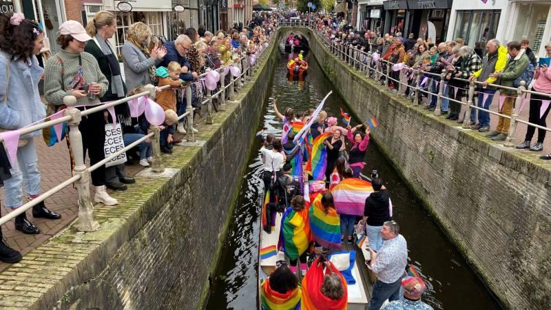 Eerste Roze Zaterdag in Friesland: 'Heel bijzonder'