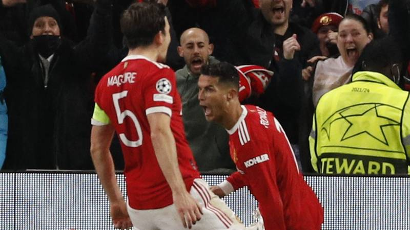 Ronaldo does it again for United • Bayern; Villarreal and Chelsea win big